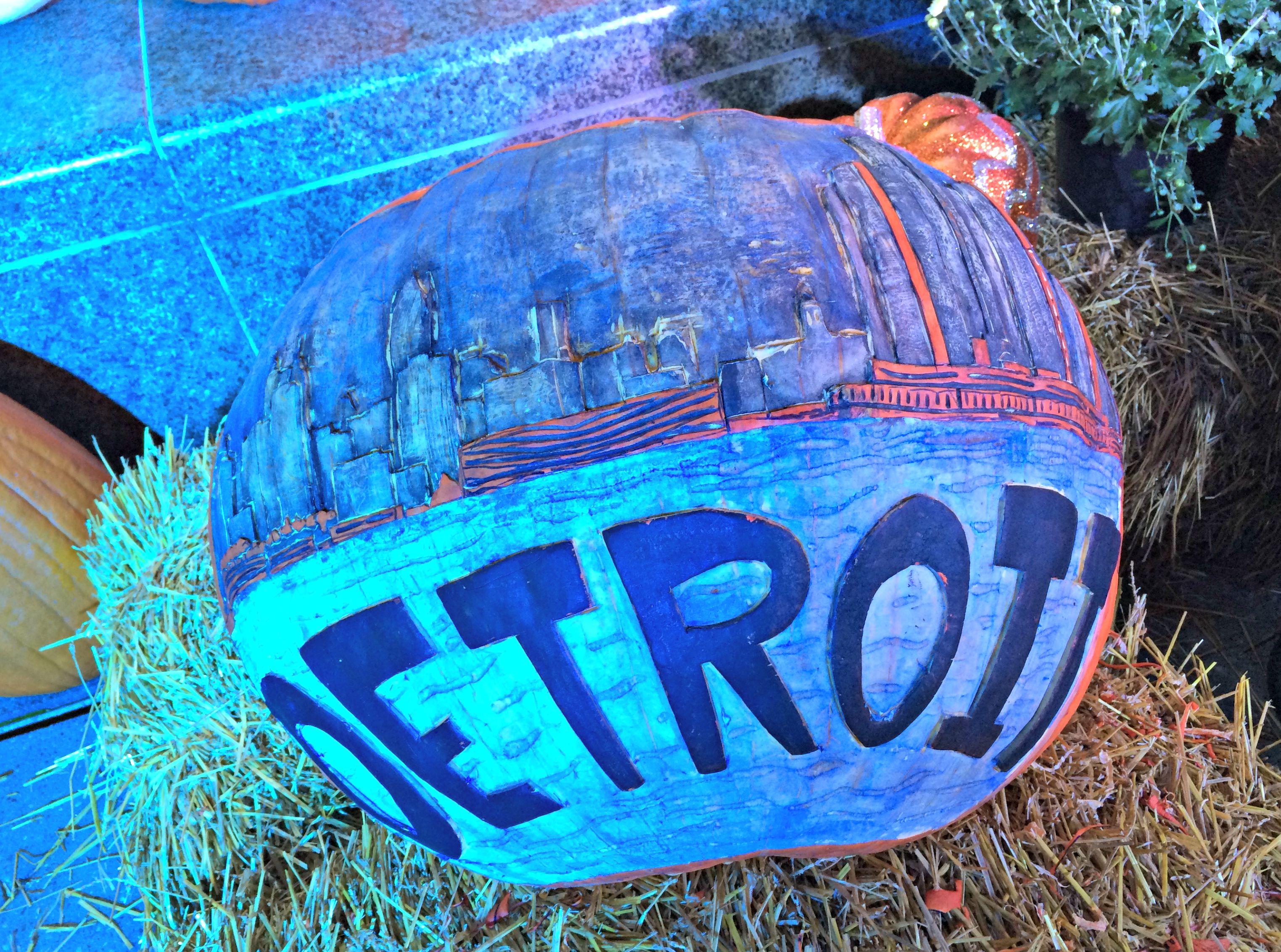Detroit pumpkin