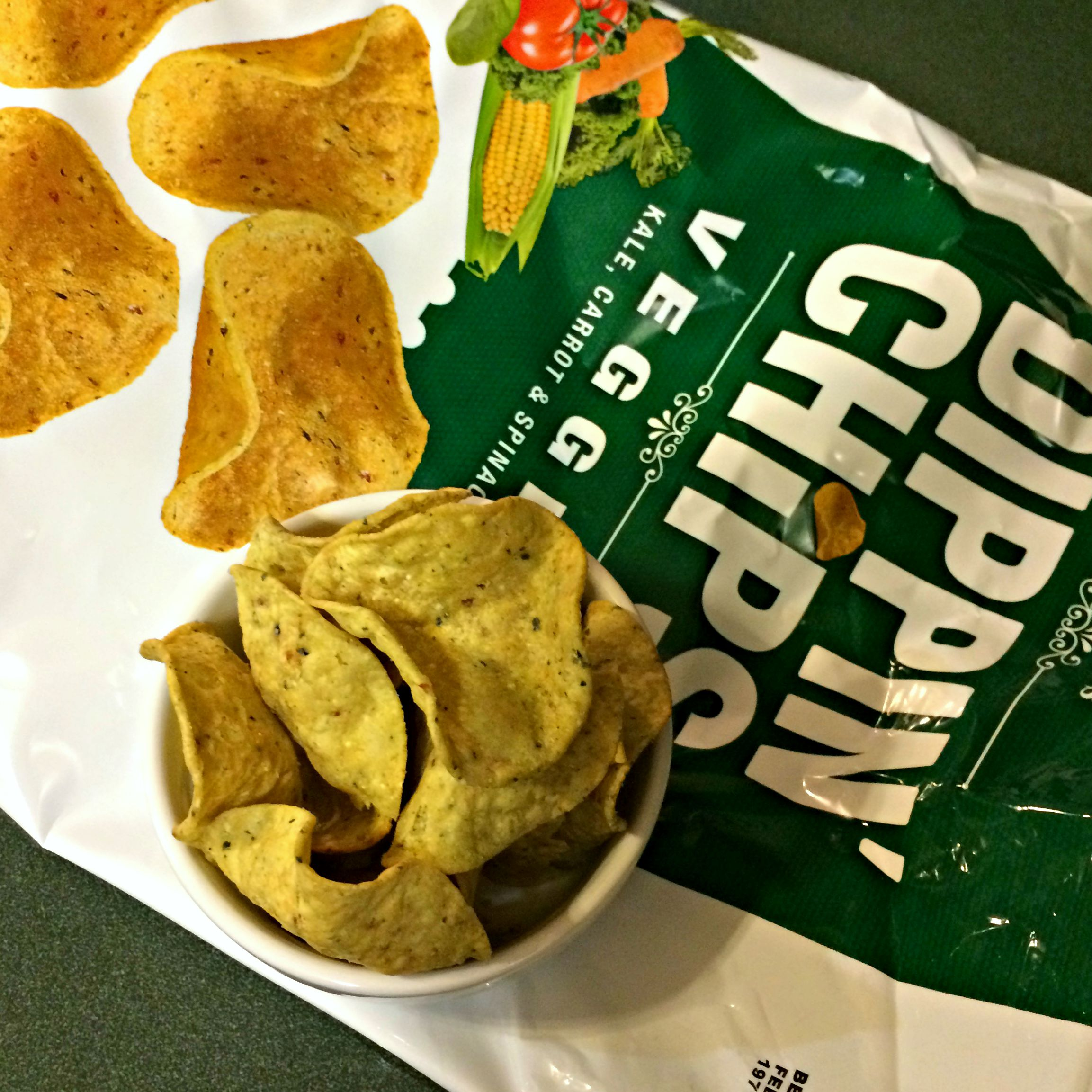 Dippin' Chips veggie kale, carrot & spinach