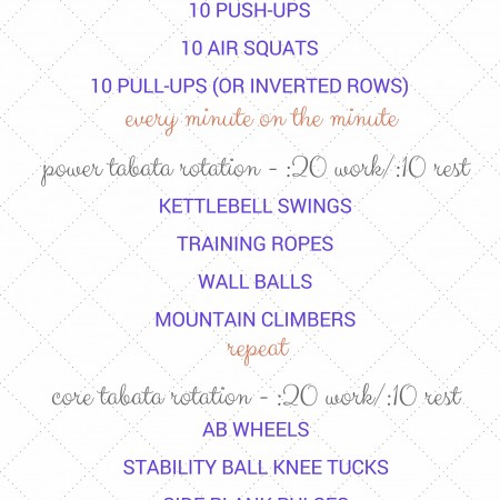 EMOM (every minute on the minute) & tabata circuit workout (2)