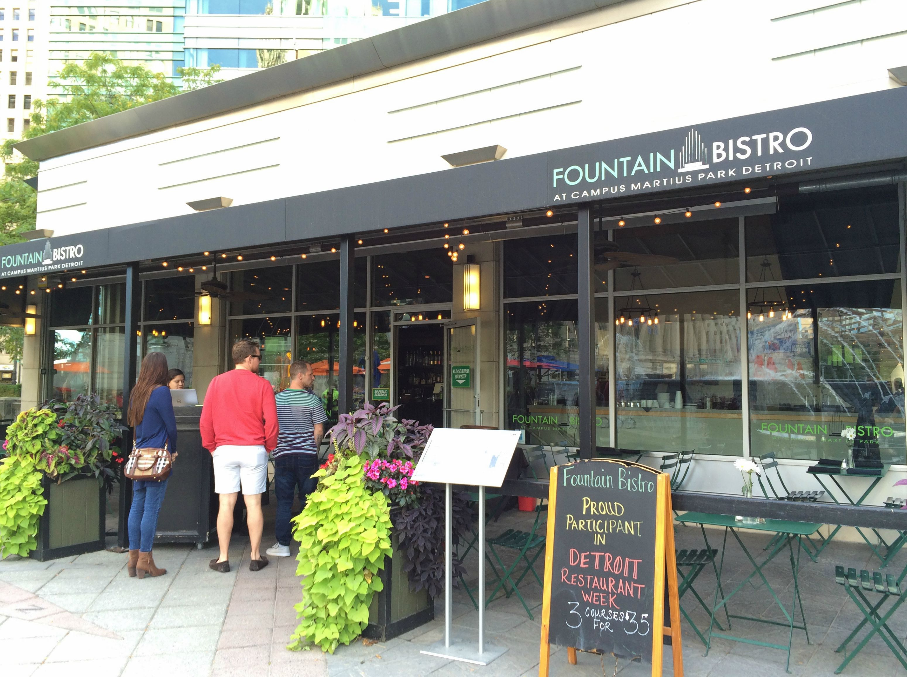 Fountain Bistro Detroit