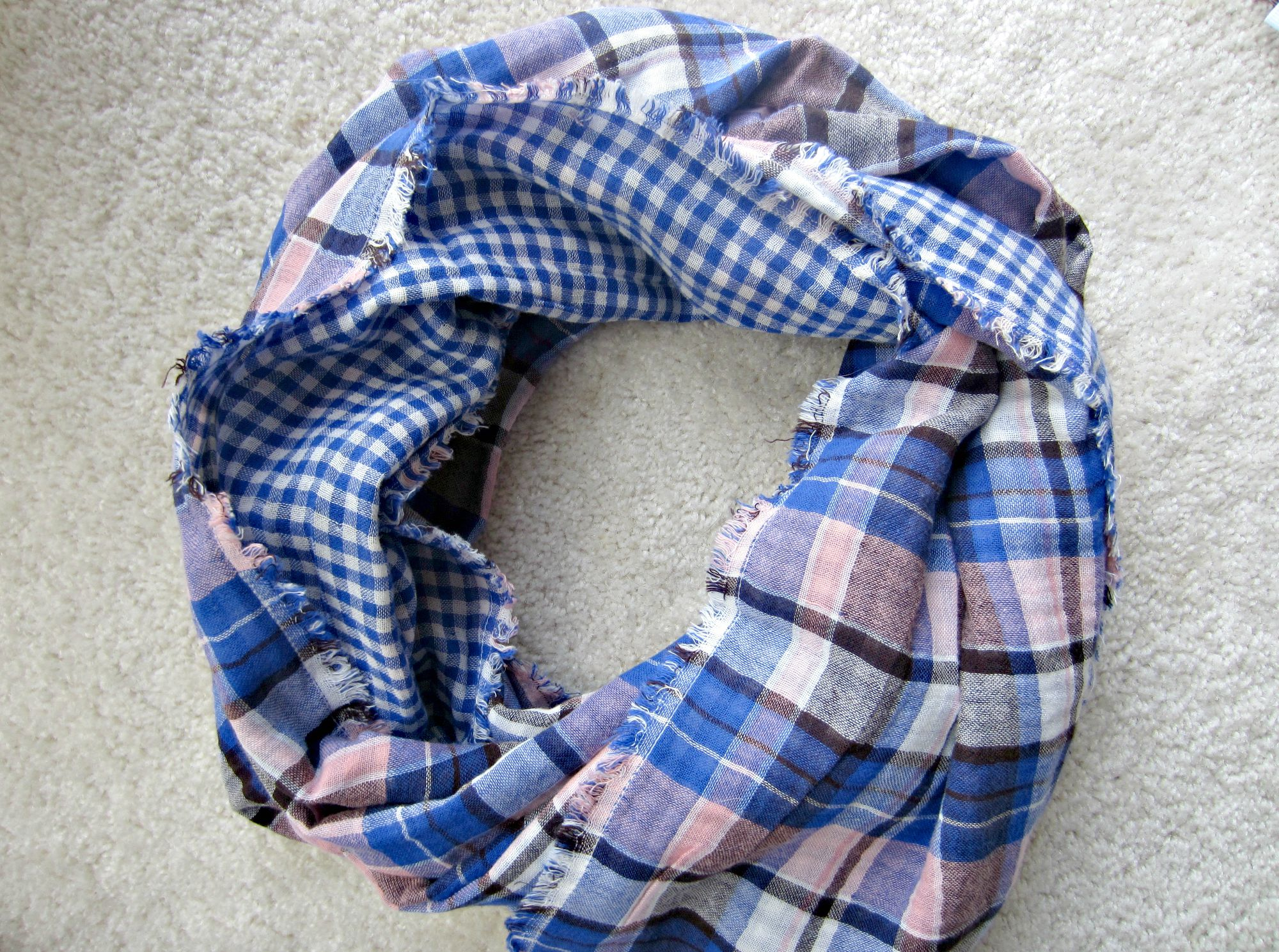 american colors mediterranean plaid scarf
