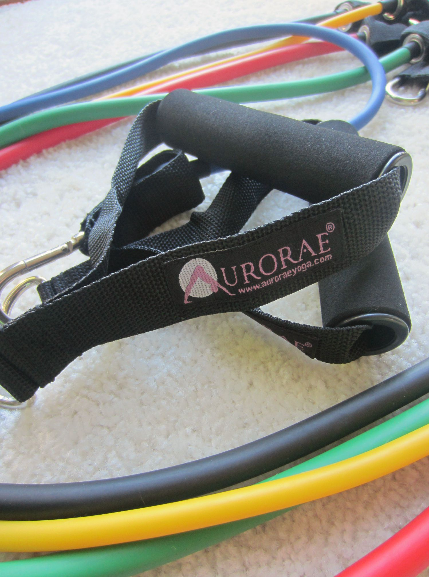 aurorae yoga resistance bands