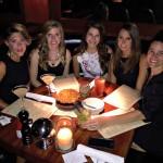 bachelorette dinner at bandera chicago