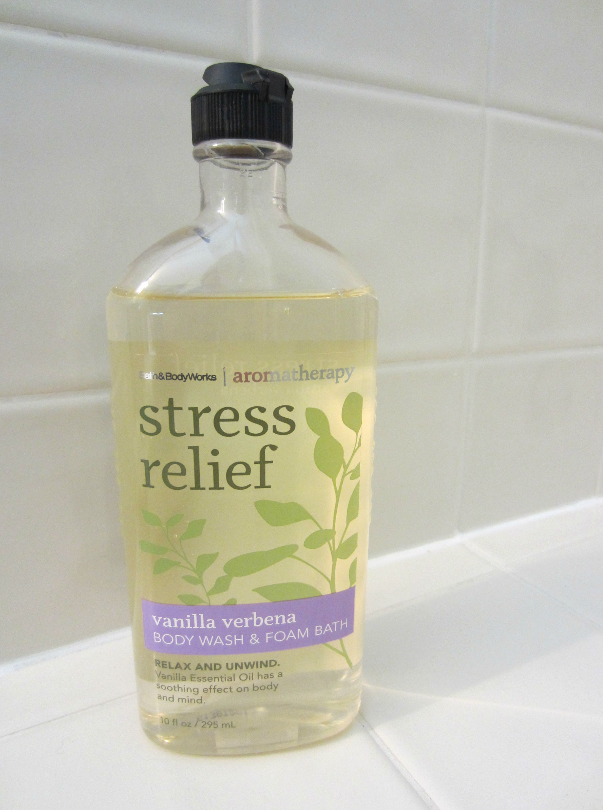 bath & body works aromatherapy stress relief body wash