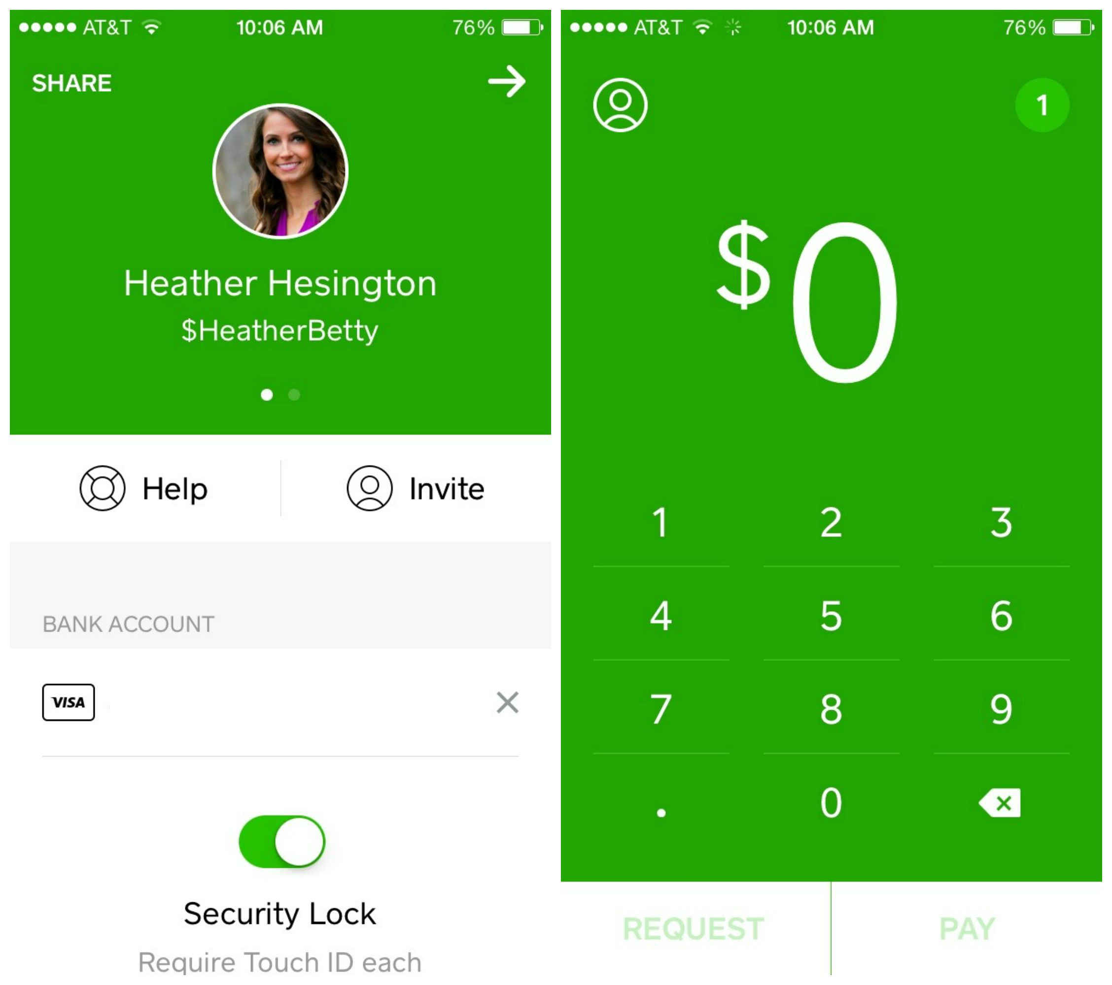 cash app collage
