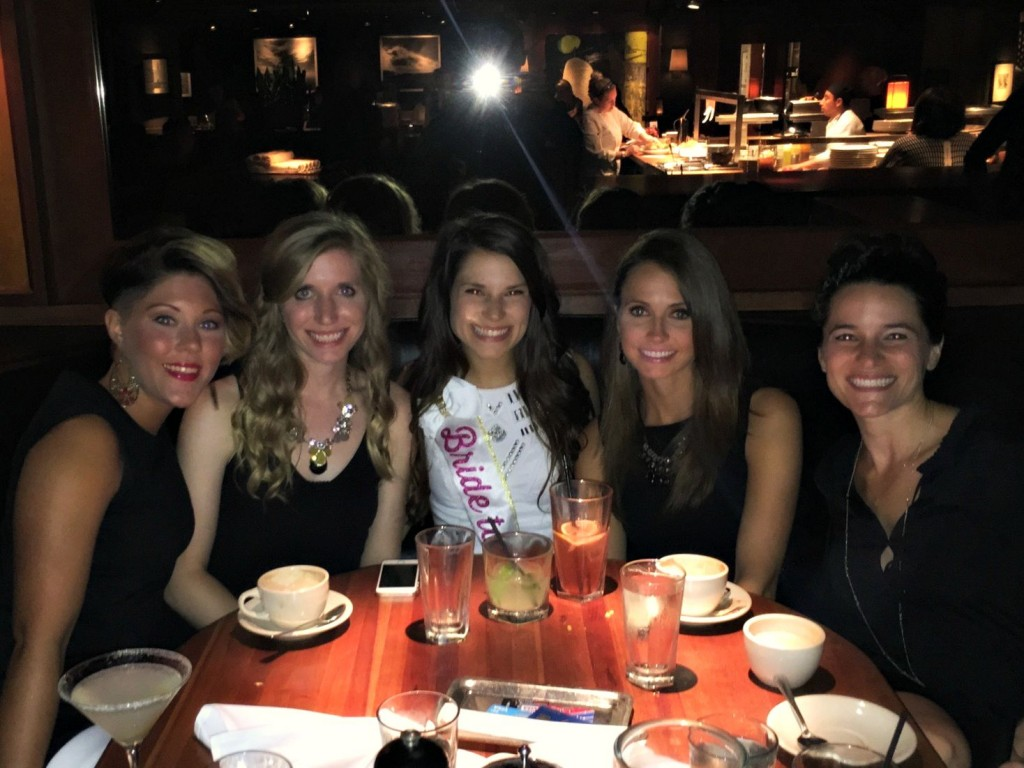 celebrating alexs bachelorette party at bandera chicago