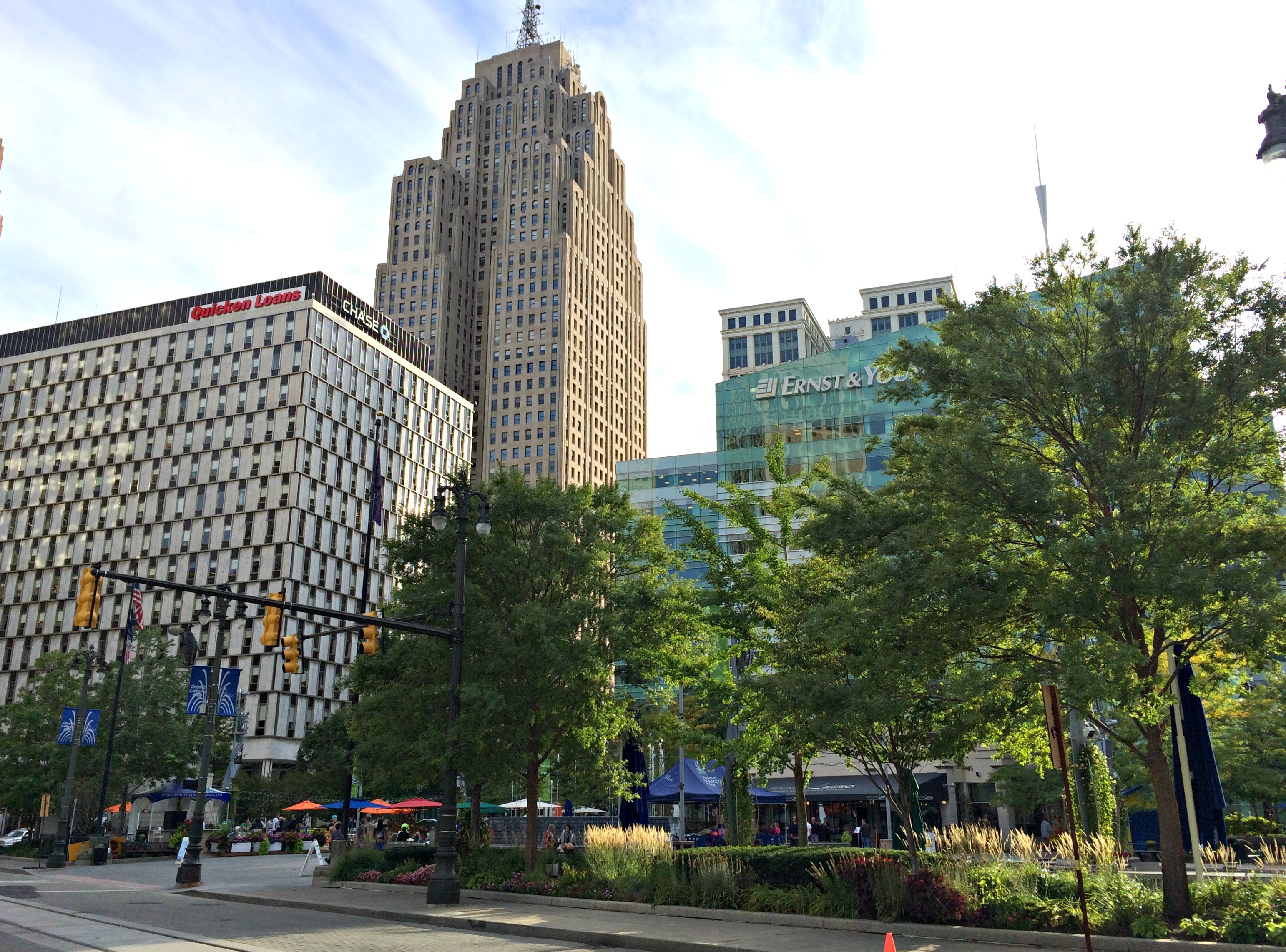downtown detroit campus martius park