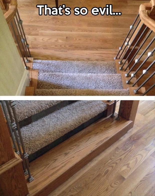 evil step
