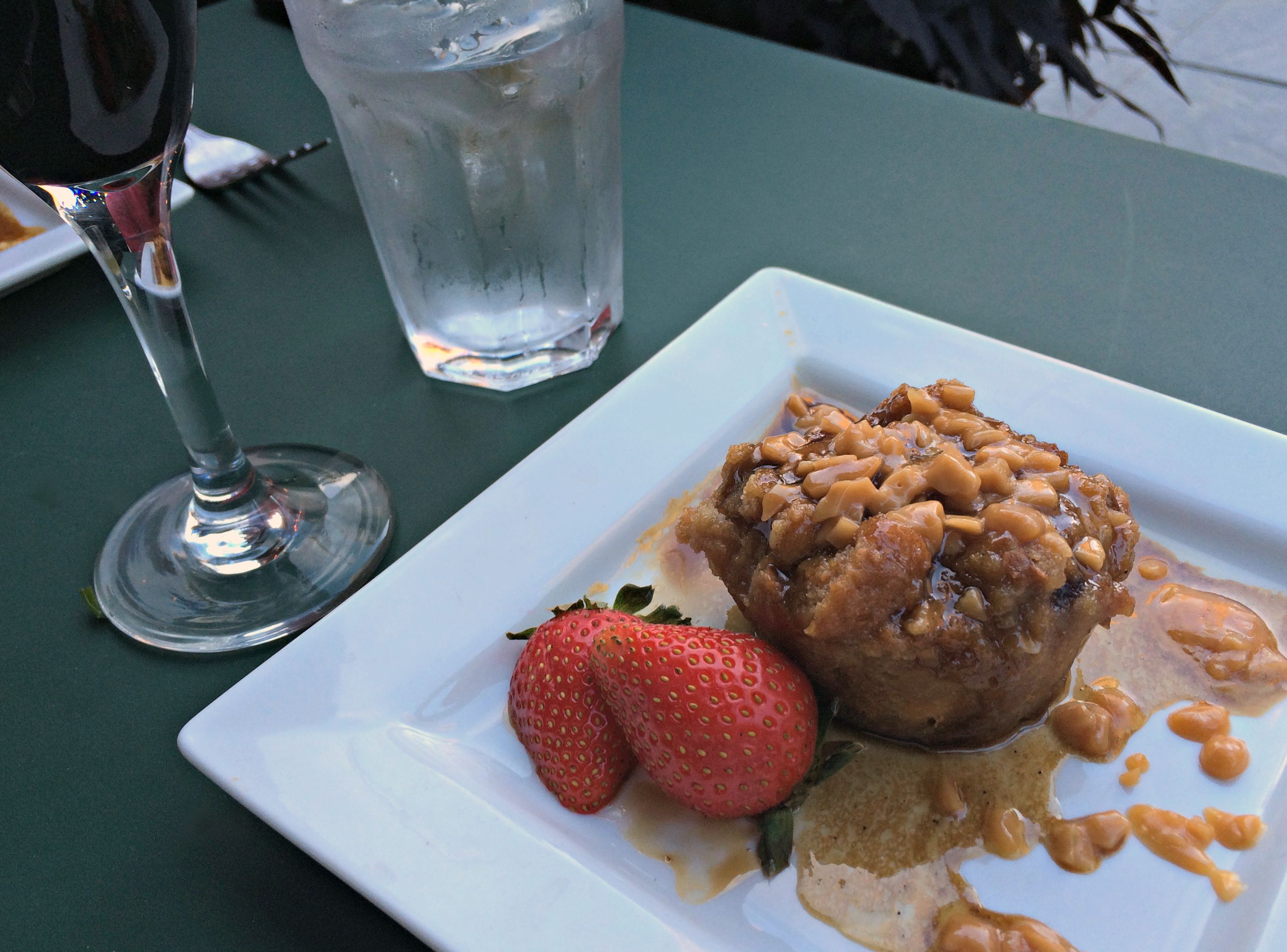 fountain bistro bread pudding