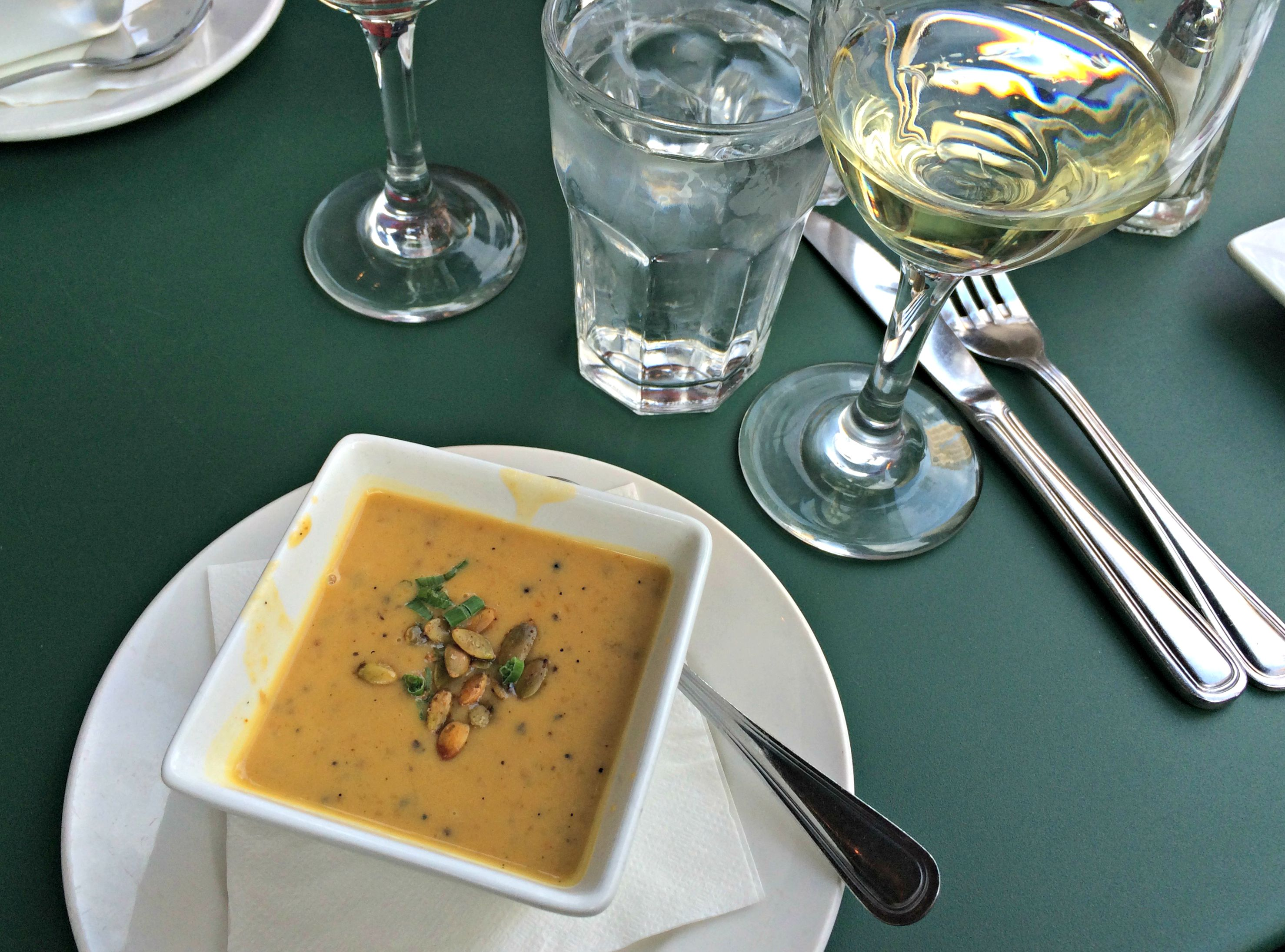 fountain bistro butternut squash and cauliflower soup