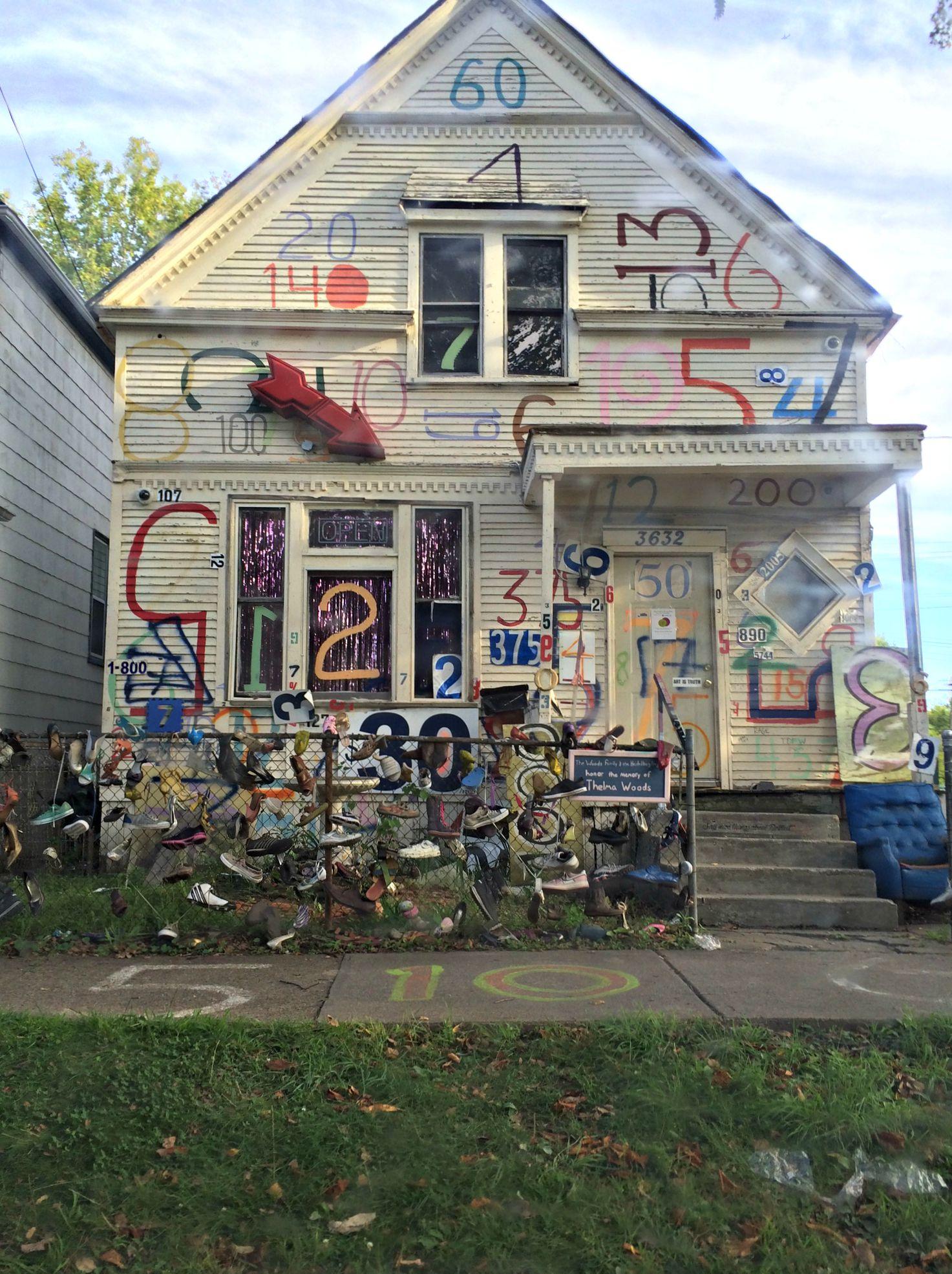 heidelberg project detroit house