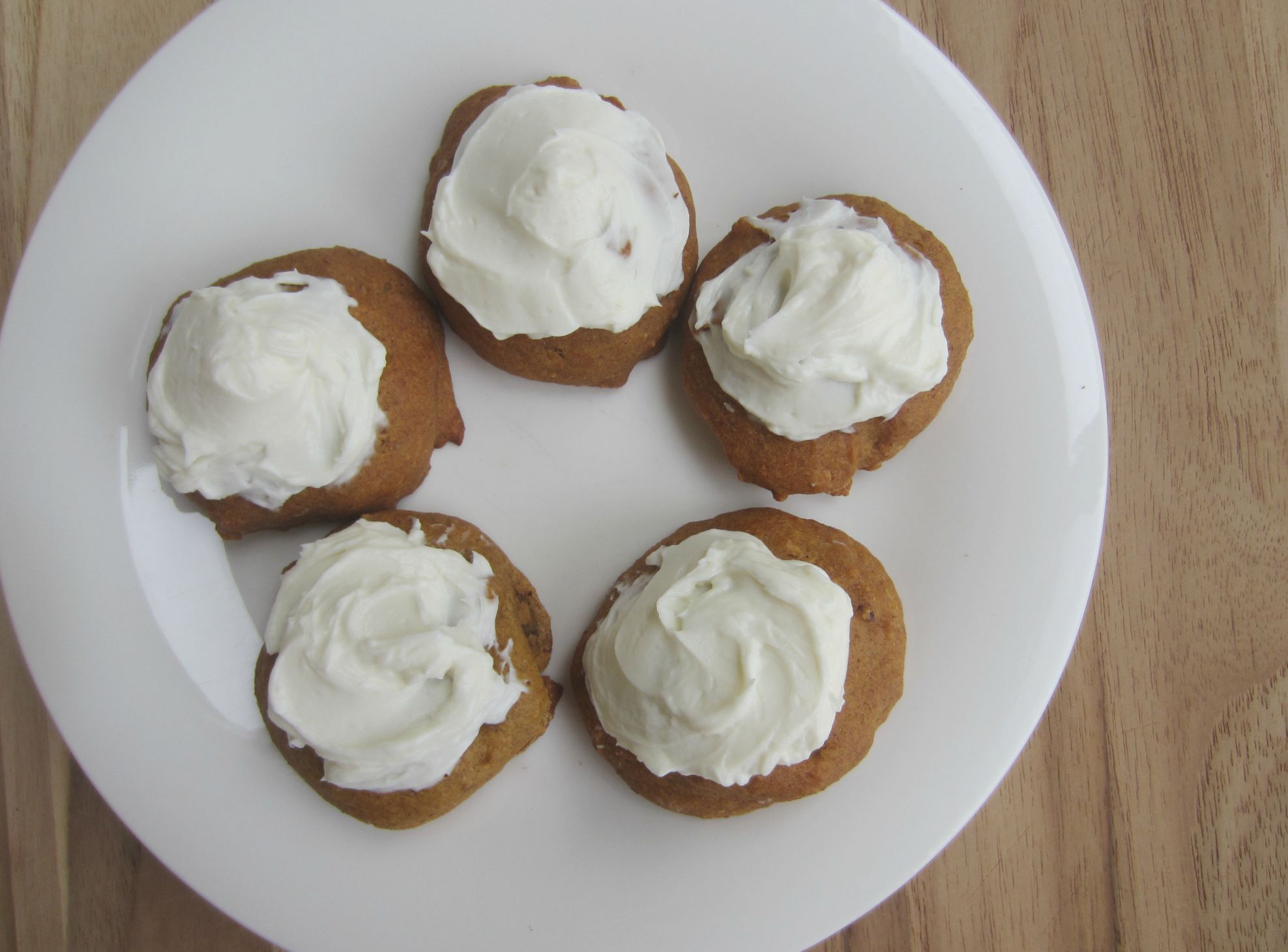 lightened up pumpkin spice cookies