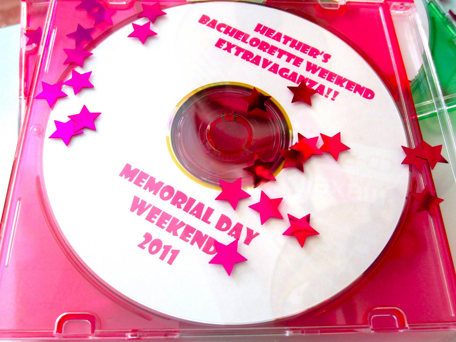 mixed cd for bachelorette weekend