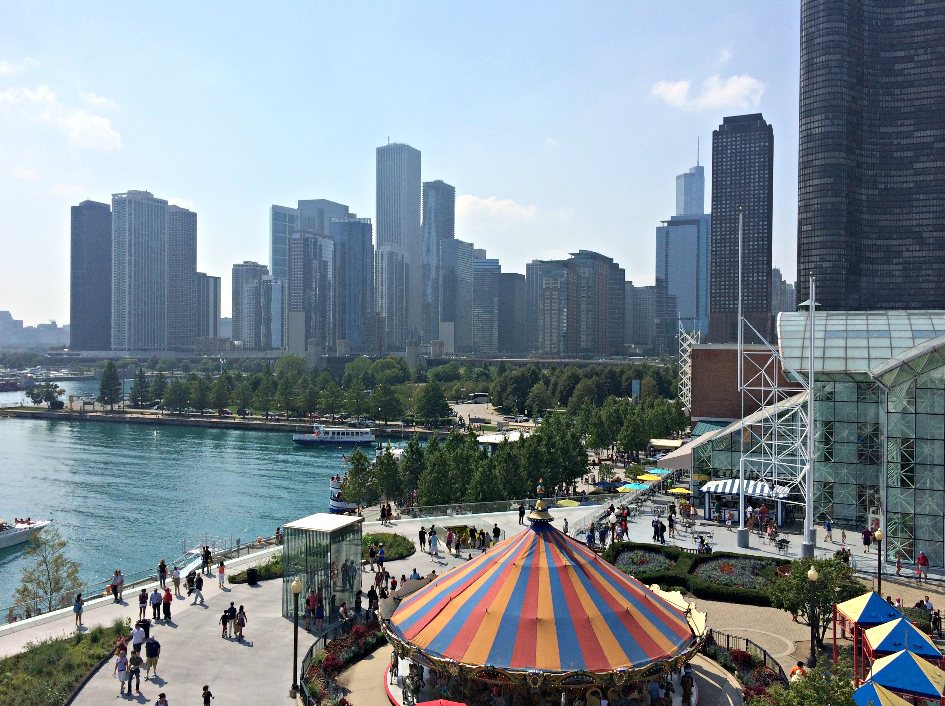 navy pier view chicago