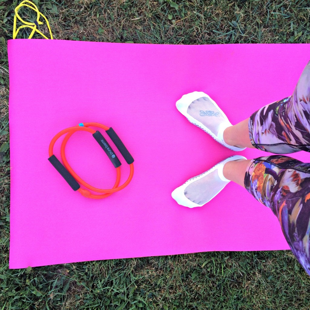 pure barre in the park