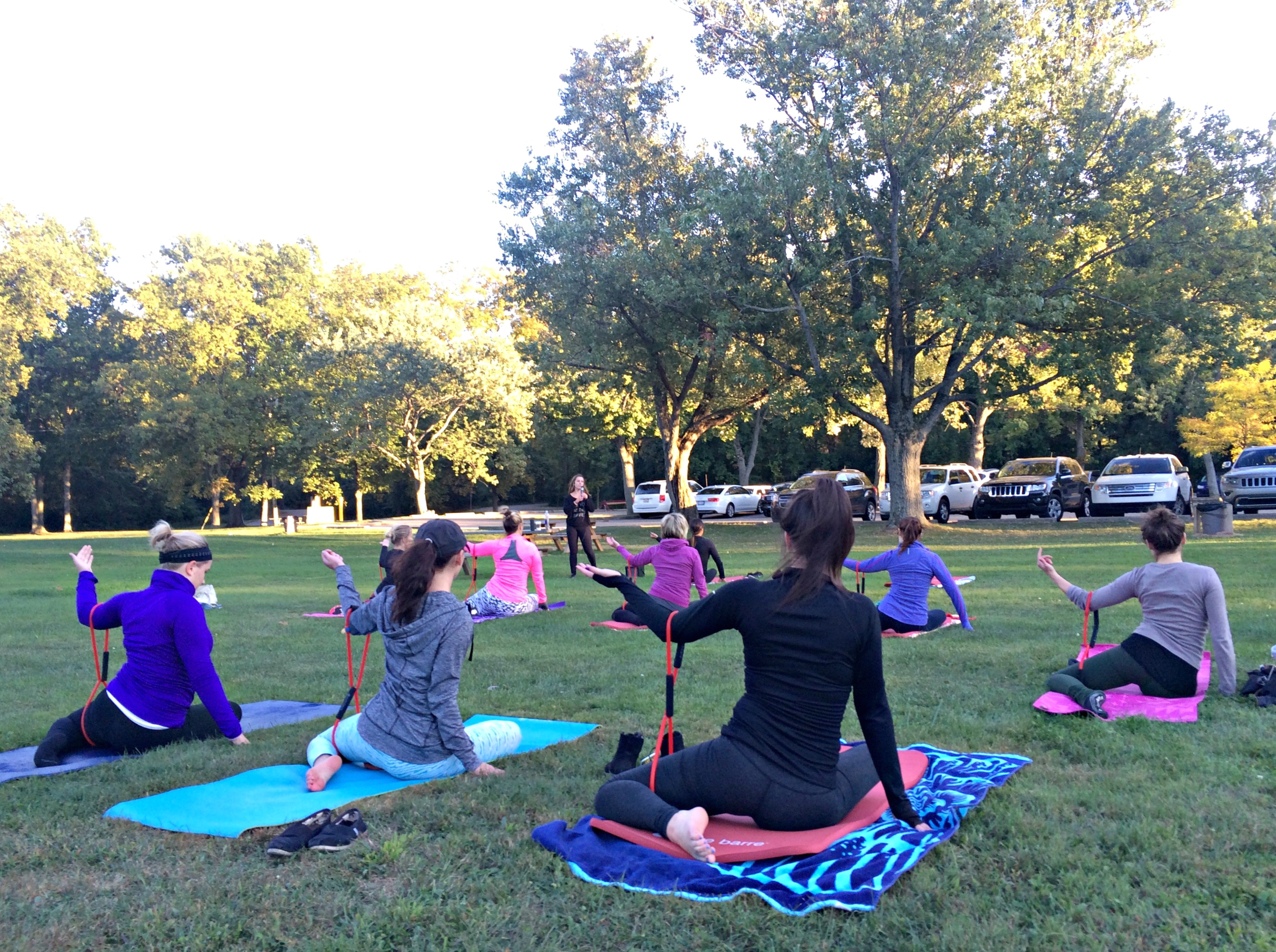 pure barre in the park class rochester mi
