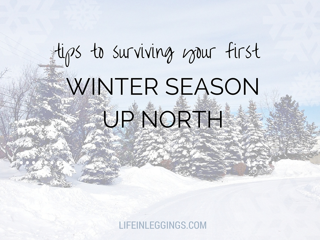 tips to surviving your first winter up north