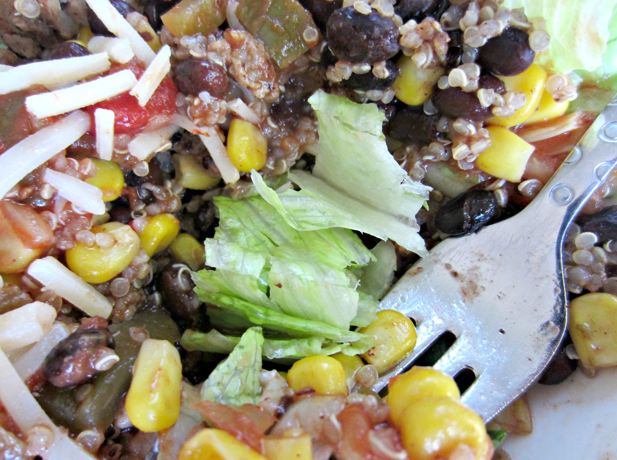 turkey quinoa burrito bowl healthy meal idea