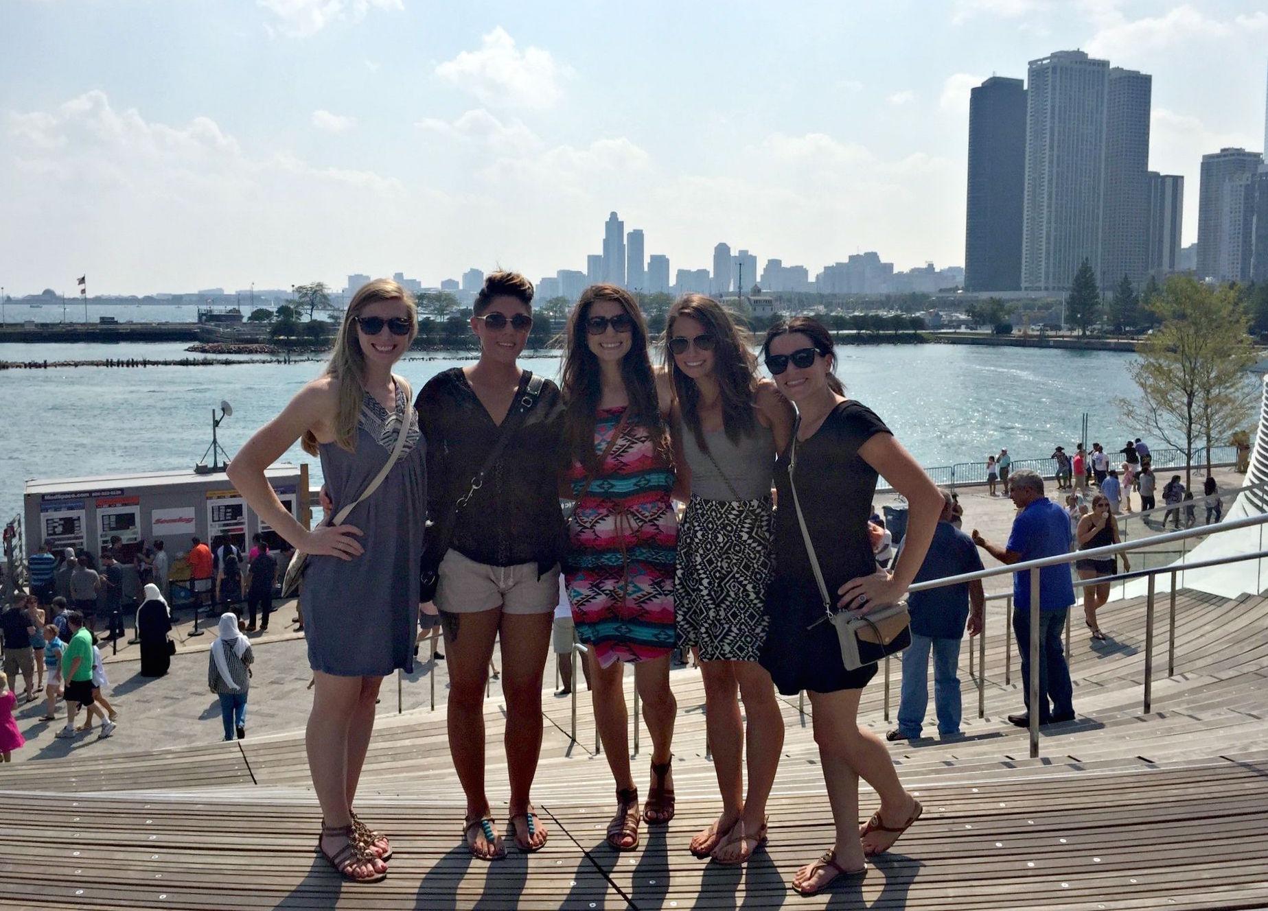 visiting navy pier