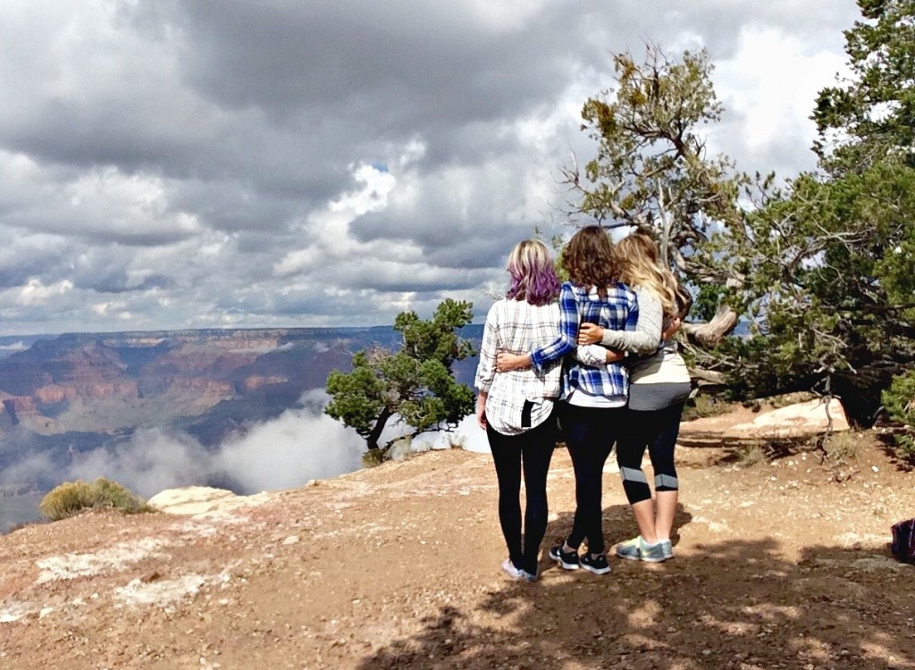 3 musketeers at the grand canyon