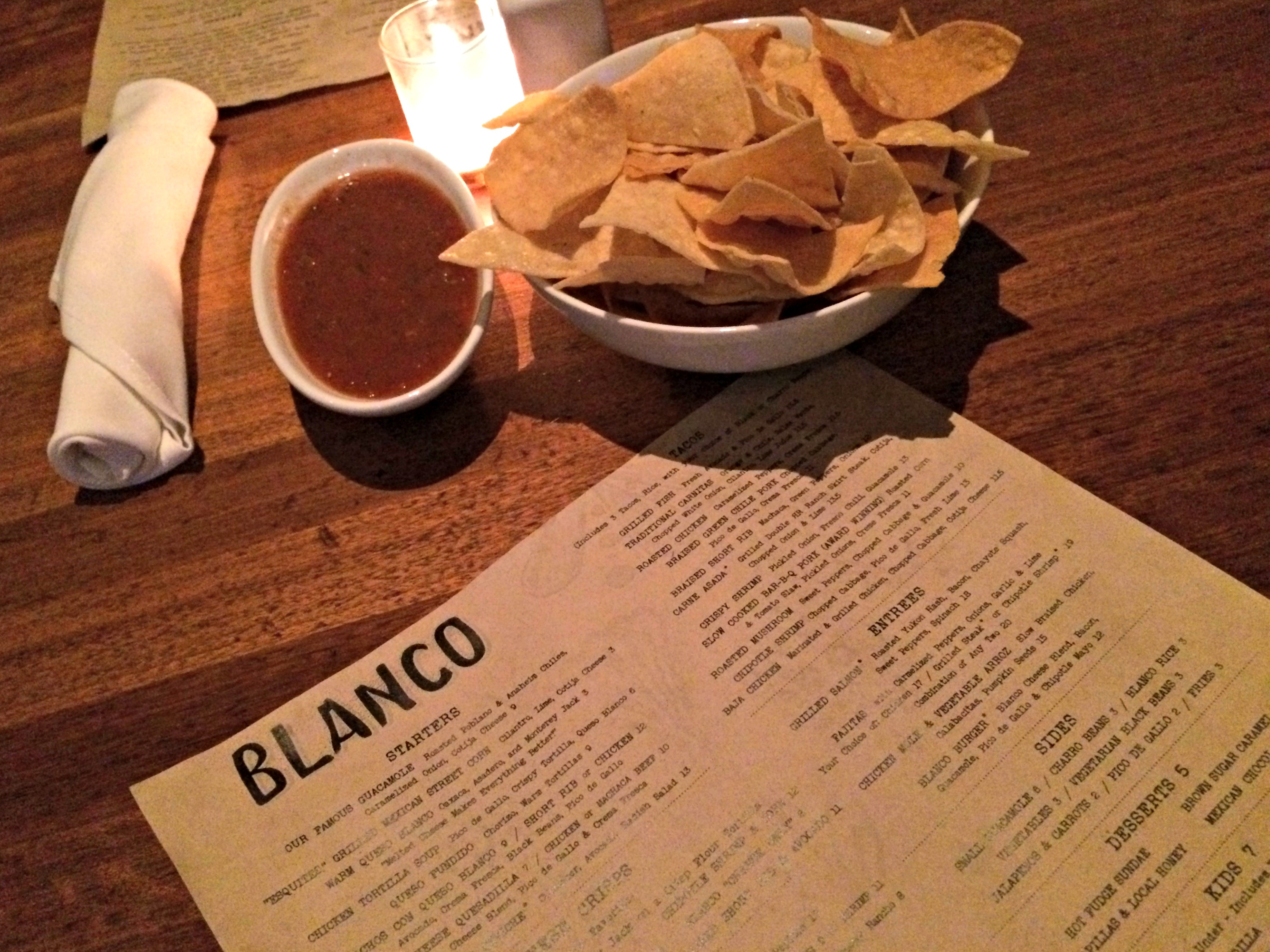Blanco Tacos & Tequila restaurant scottsdale, az