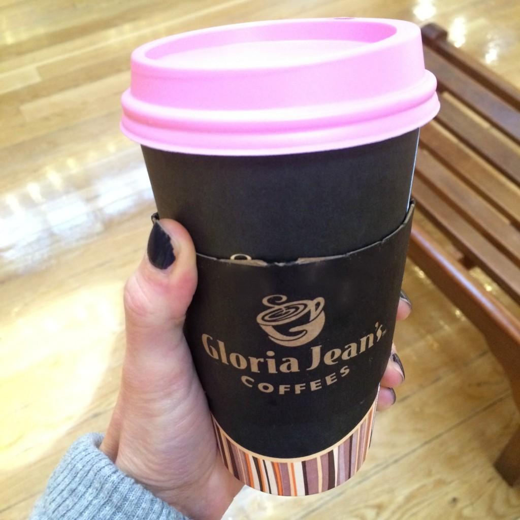 Gloria Jean's pumpkin chai latte