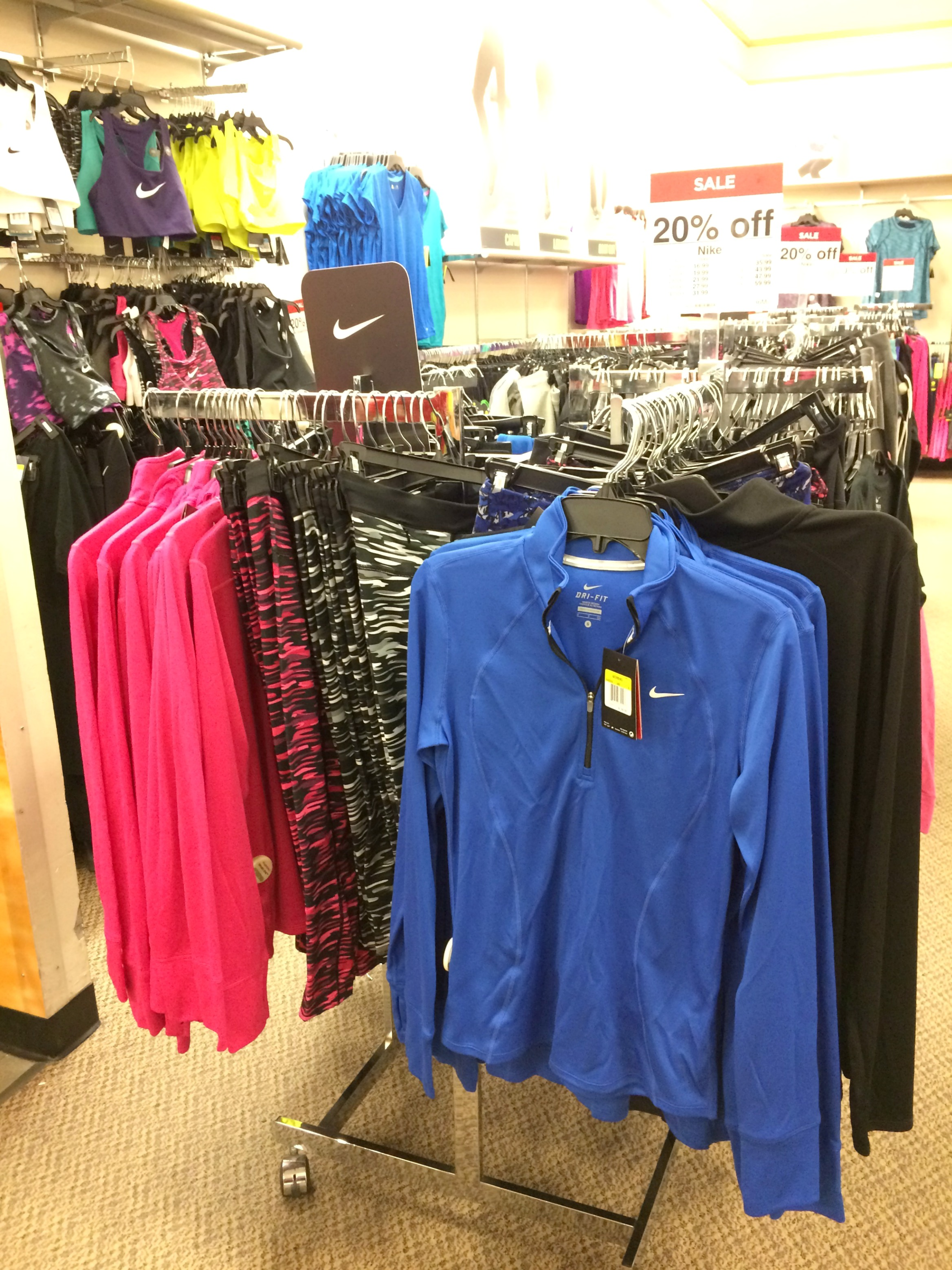 JCPenny Nike activewear