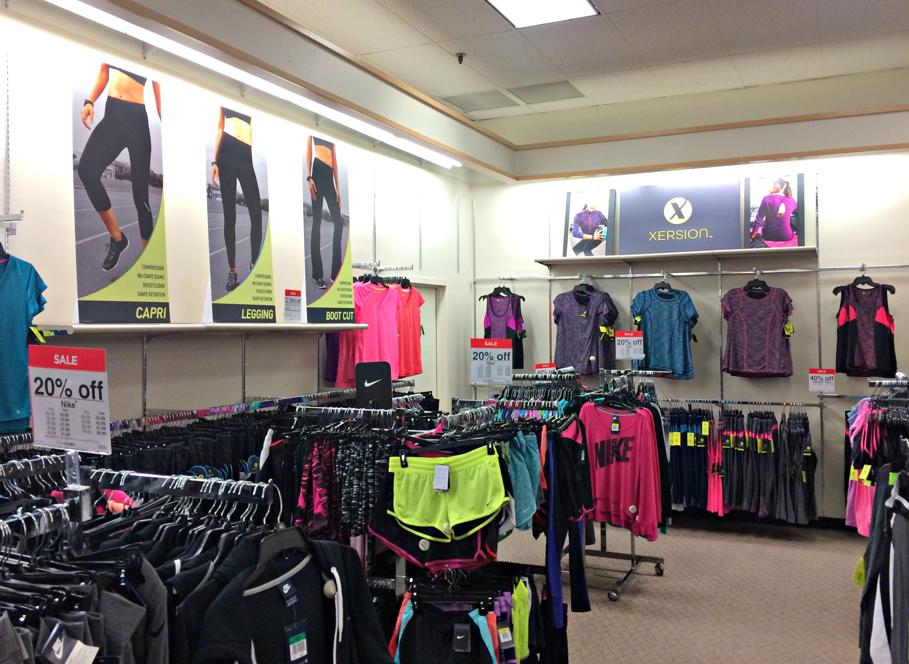 JCPenny activewear