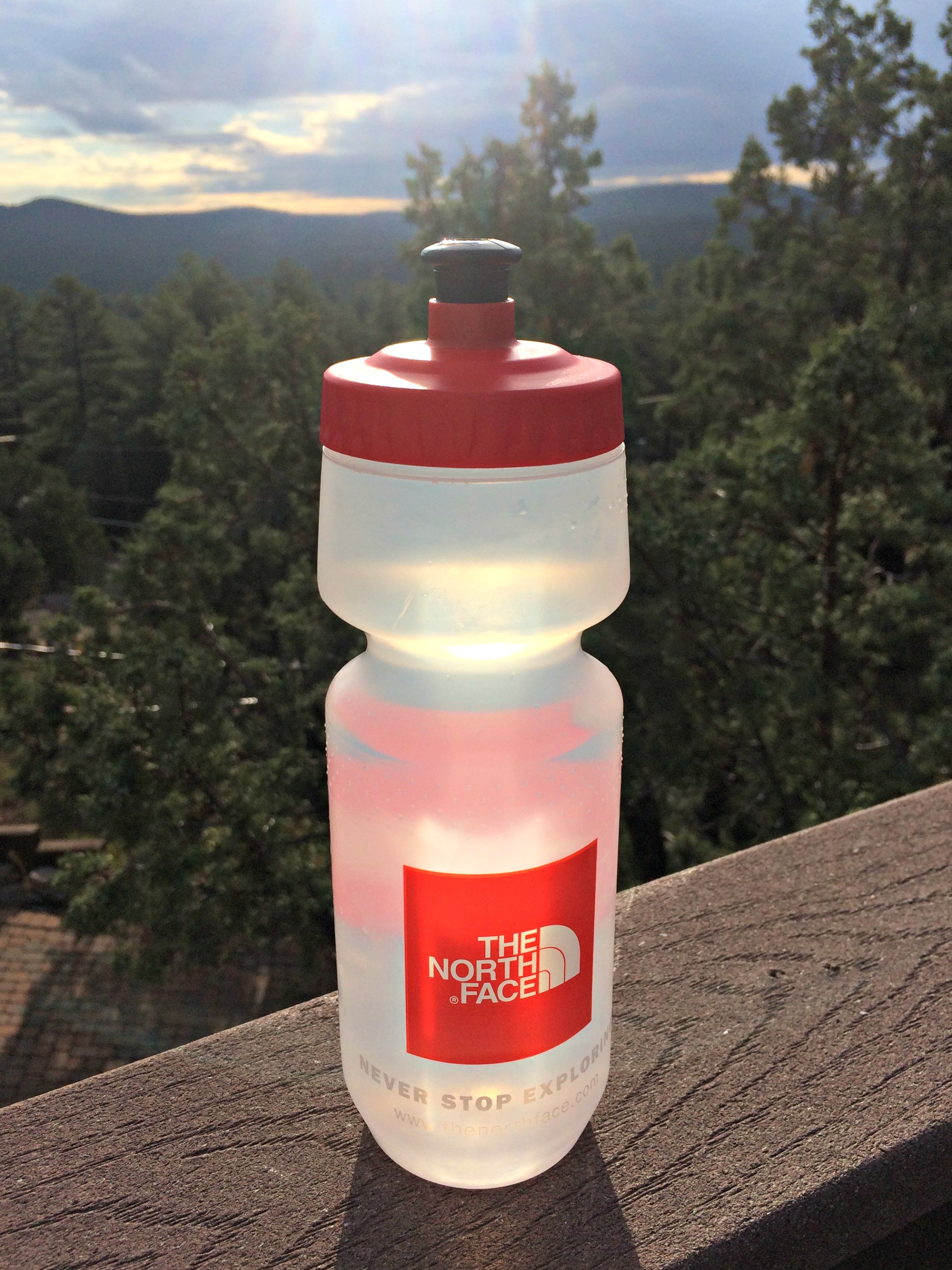 The North Face water bottle