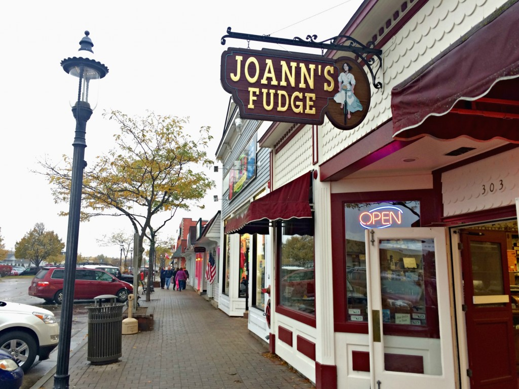 best fudge in mackinaw city - joann's fudge