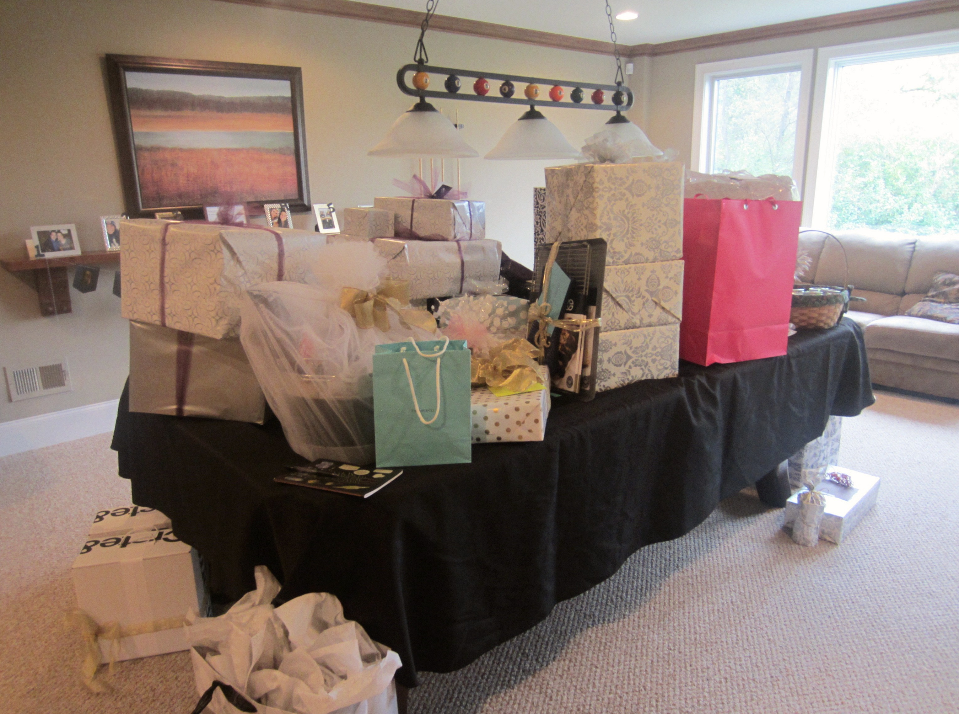 bridal shower presents