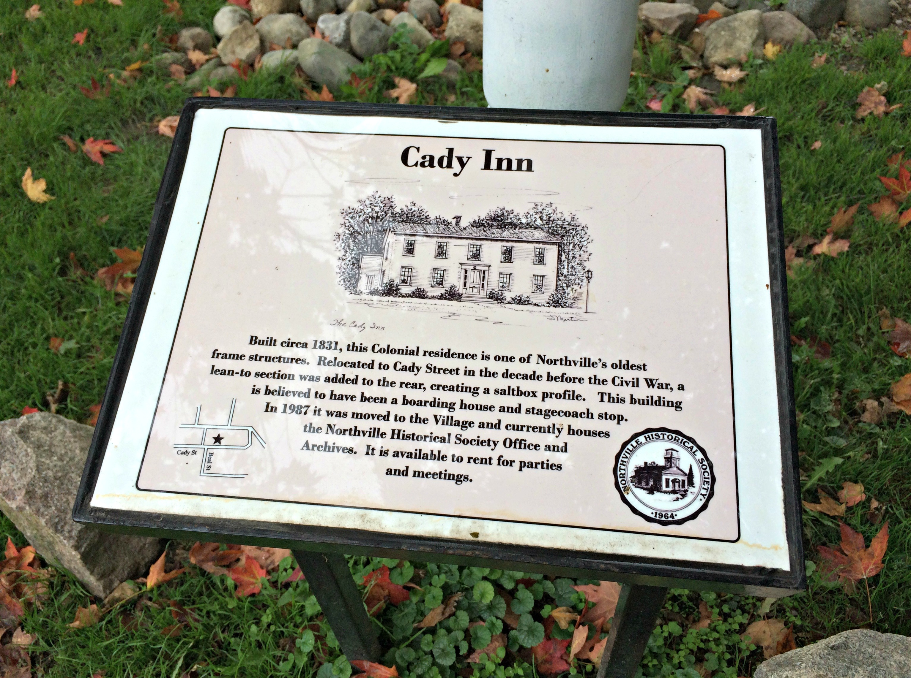 cady inn northville