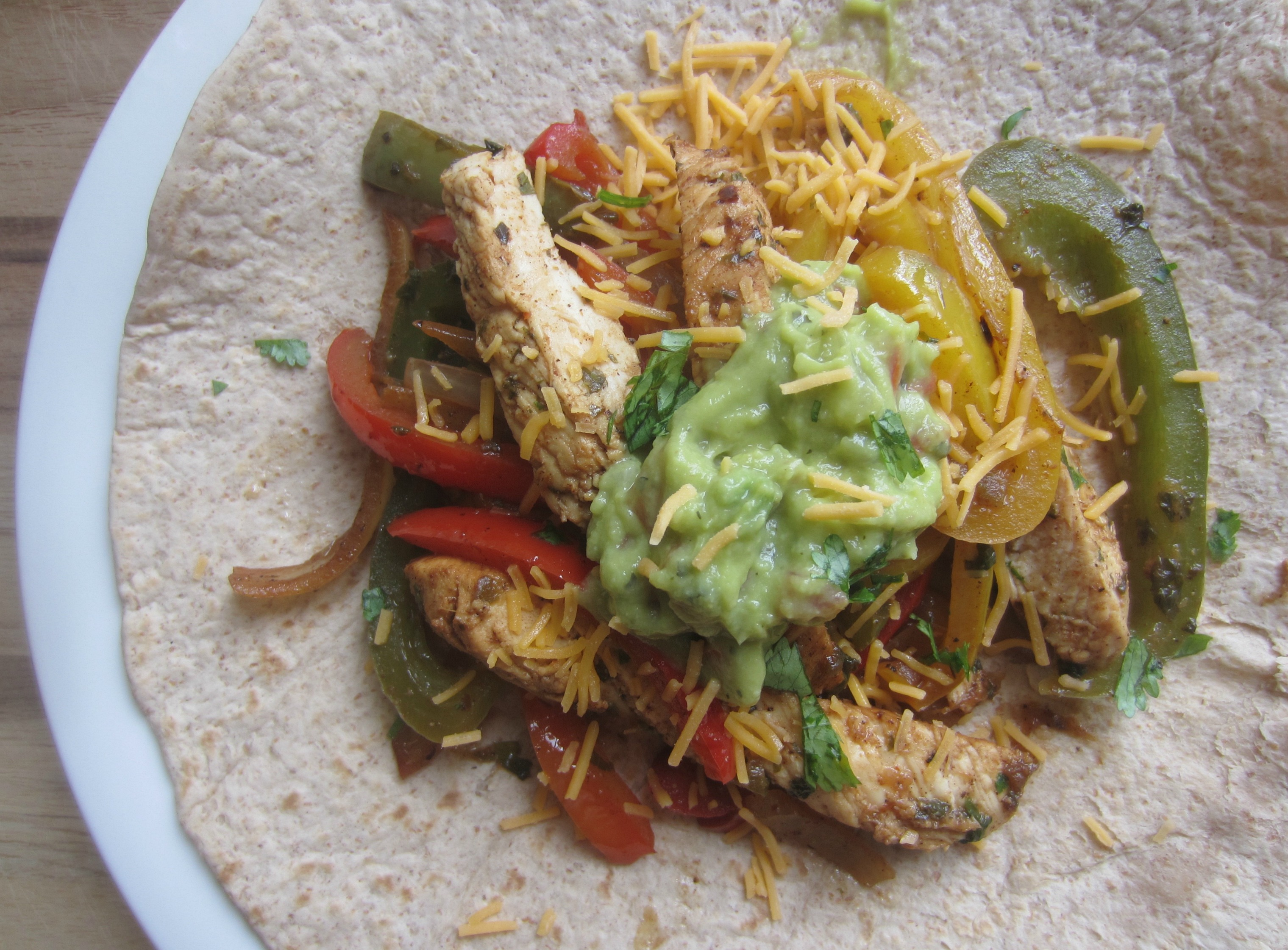 chicken fajitas healthy recipe