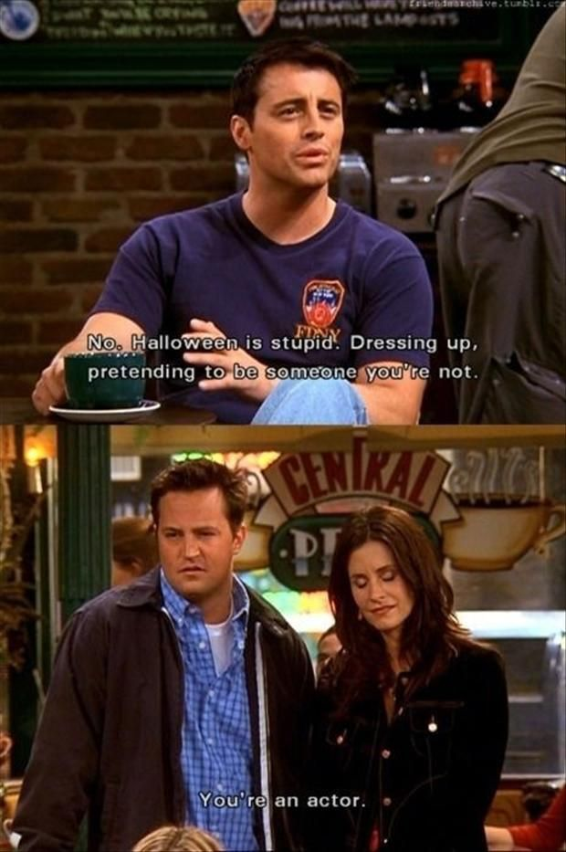 friends funny halloween quote