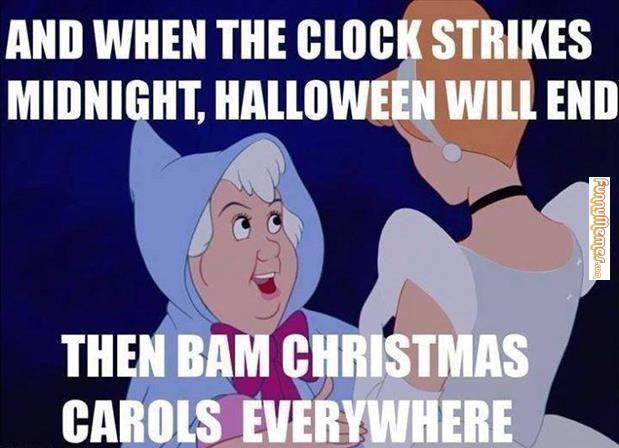 funny halloween christmas carols