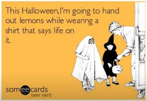 funny halloween someecard