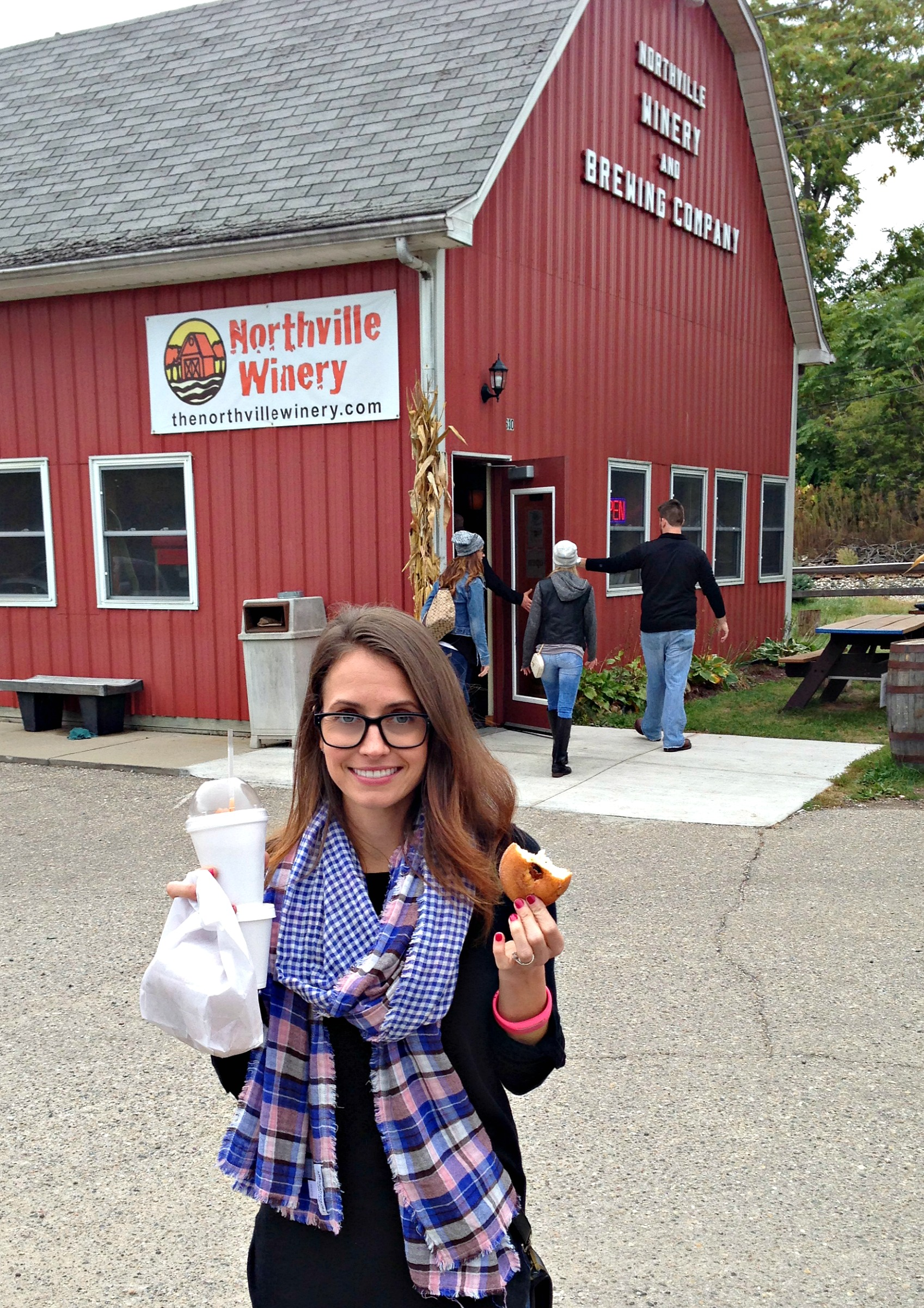 heather at northville cider mill and winery
