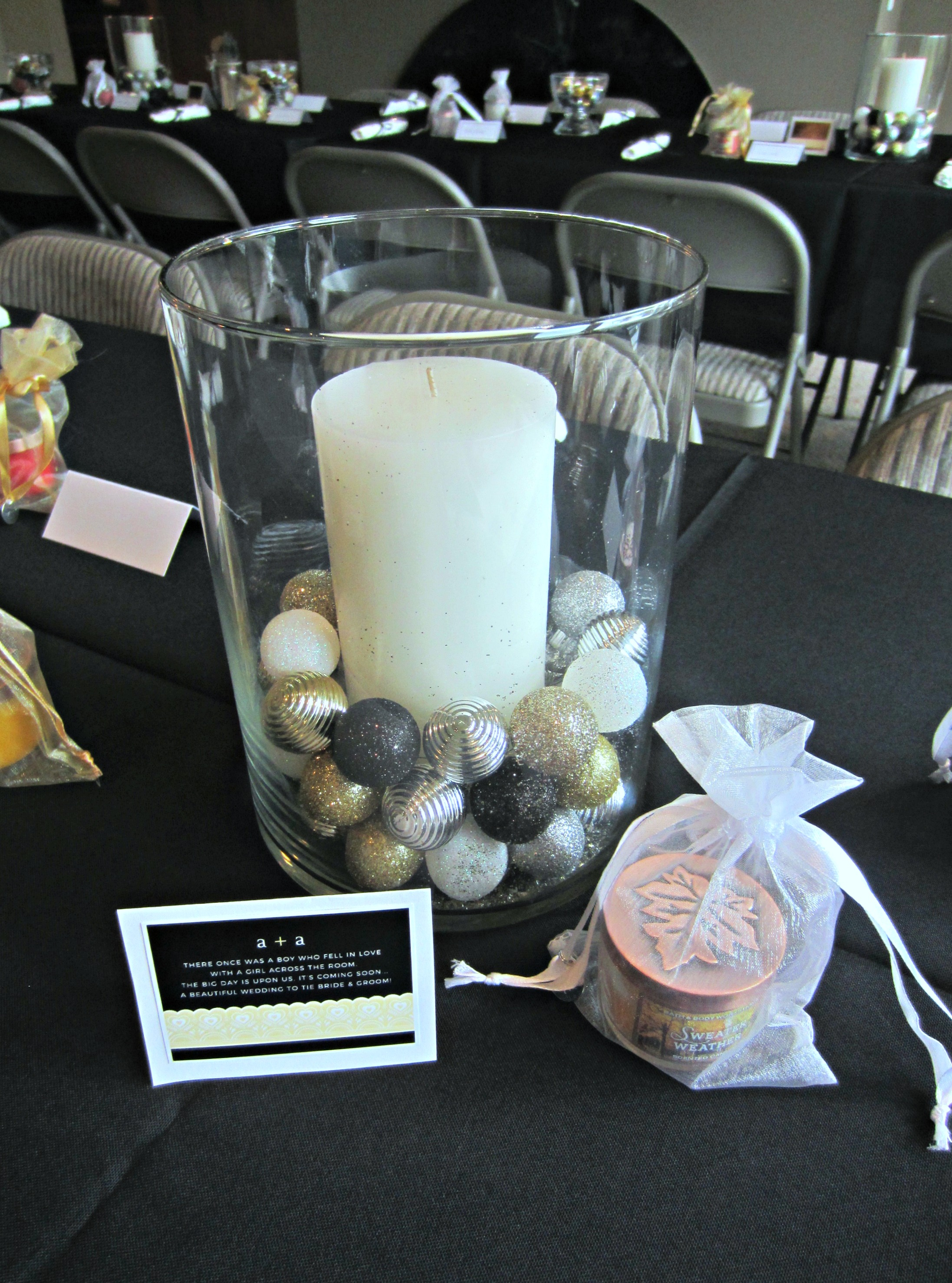 new years eve bridal shower decorations