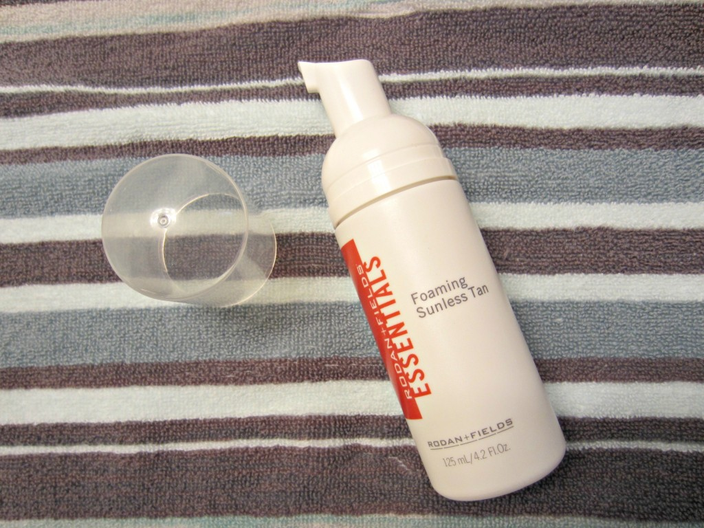 rodan + fields foaming sunless tan