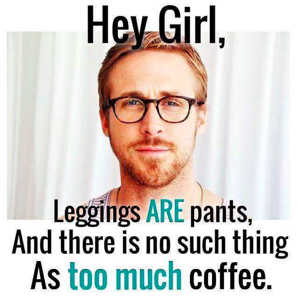 ryan gosling leggings funny