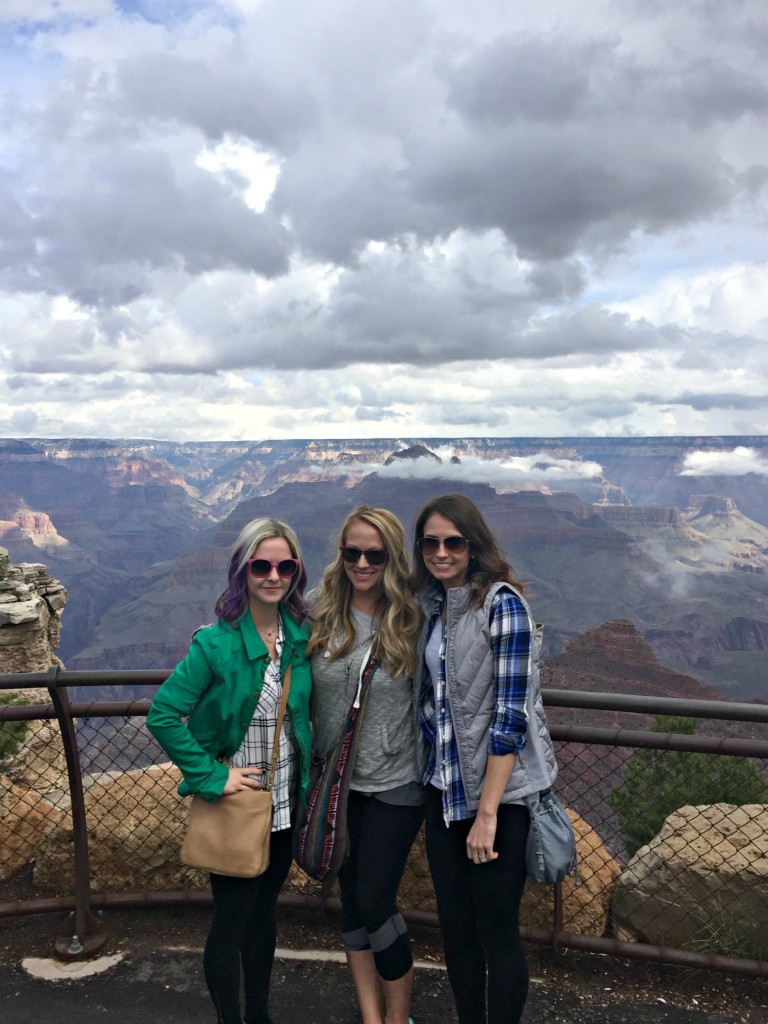visiting the Grand Canyon - 3 Musketeers