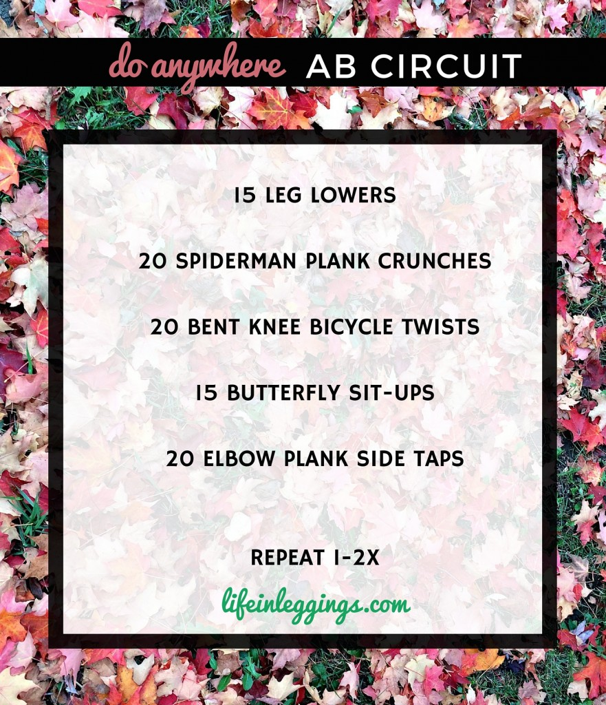 5 ab exercises you can do anywhere
