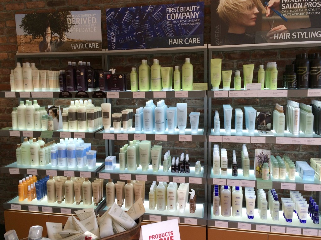 Aveda hair care and styling products - Salon Legato