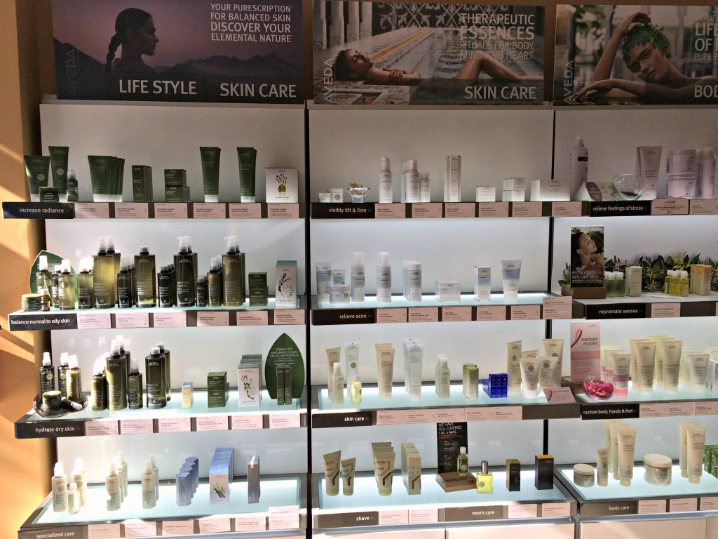 Aveda products Salon Legato
