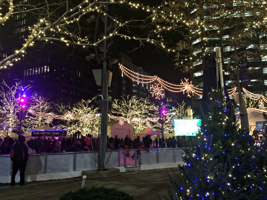 Detroit Tree Lighting