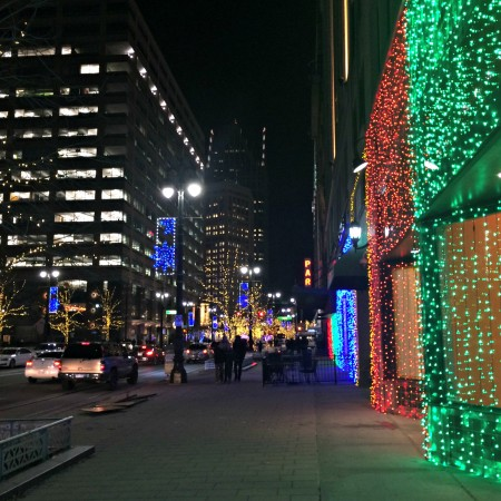 Detroit christmas lights