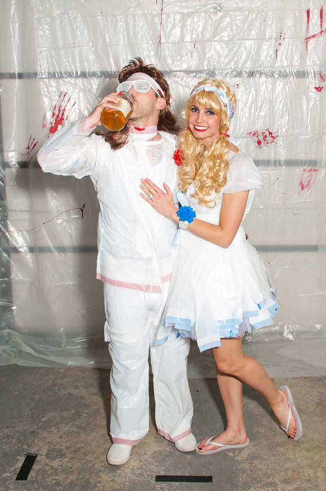 Halloween 2015 - White Trash Prom 1