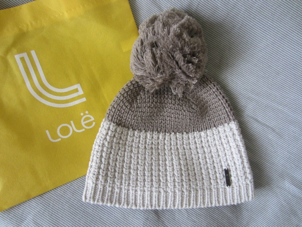 Lole cotton knitwear beanie