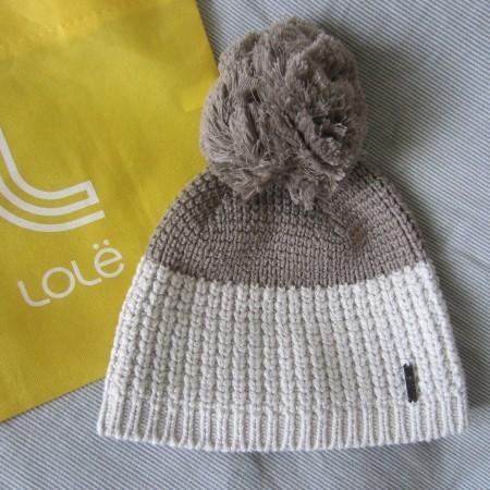 Lole cotton knitwear beanie