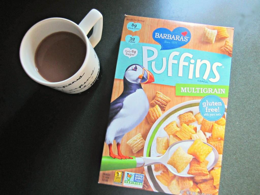 Puffins gluten free cereal